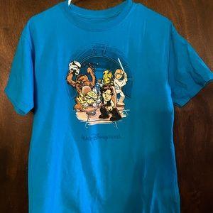 Disney Parks–Star Wars T Shirt Resistance Cartoon